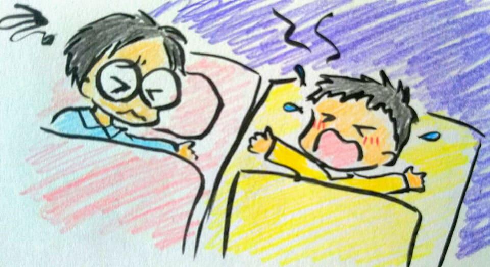 通常の夜泣き 対処法