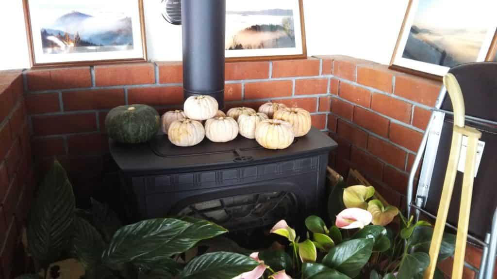 カフェー清涯荘 暖炉