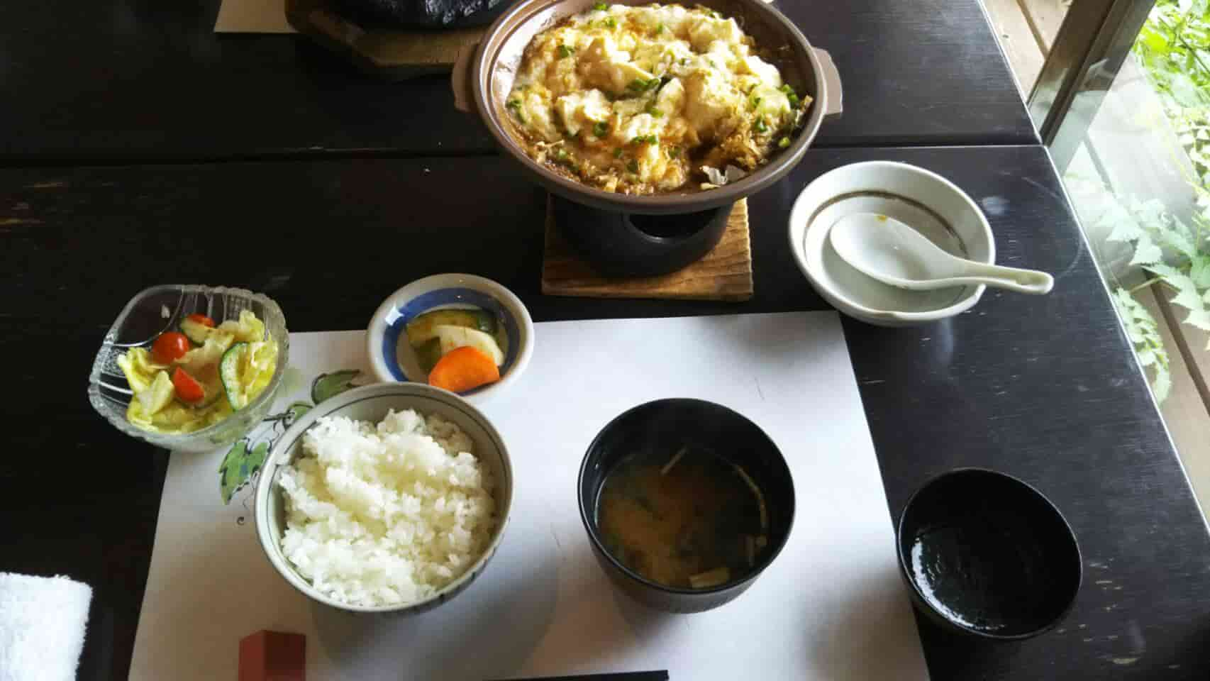蘭丸亭 豆腐とろろ鍋